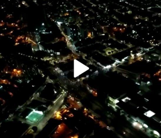 Así vigilan desde el aire las protestas en la ciudad de Ibagué