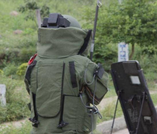 Video. Antiexplosivos detonó artefactos que están siendo utilizados en las protestas sociales