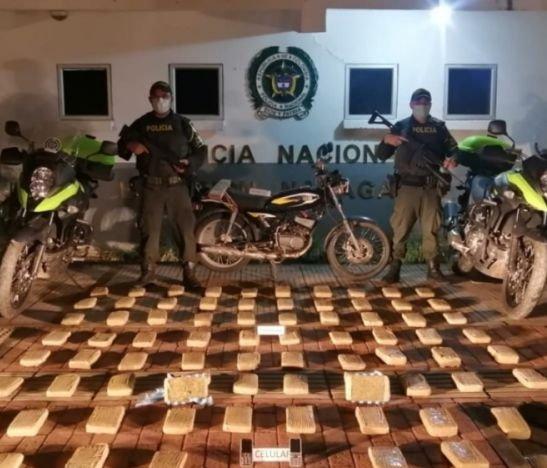 Autoridades localizaron otra narcomoto en vías del Tolima