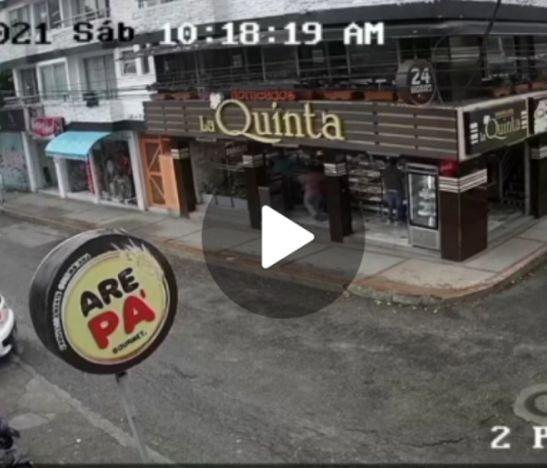 Delincuentes protagonizaron millonario caso de fletero esta mañana en Ibagué