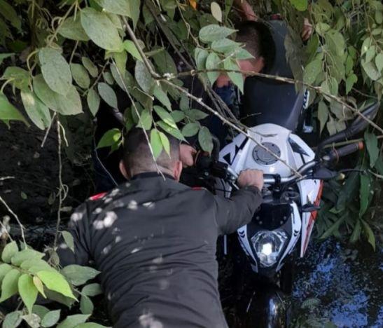 Policía Metropolitana recuperó una motocicleta hurtada esta mañana en Ibagué