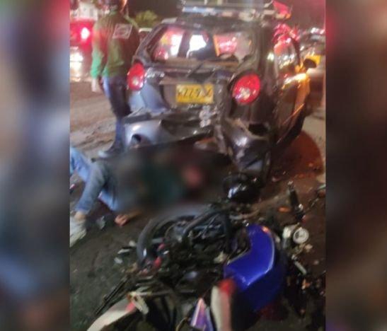 Violento accidente de tránsito dejó un herido anoche en Arrayanes