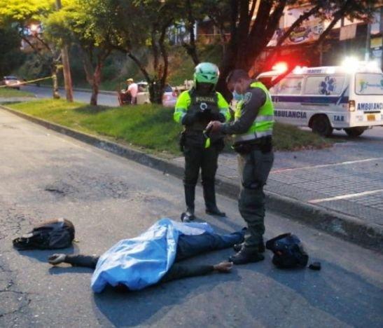 Ibagué amaneció con un muerto por accidente de tránsito
