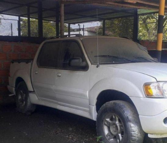 Camioneta avaluada en por lo menos 50 millones de pesos fue recuperada por la Policía
