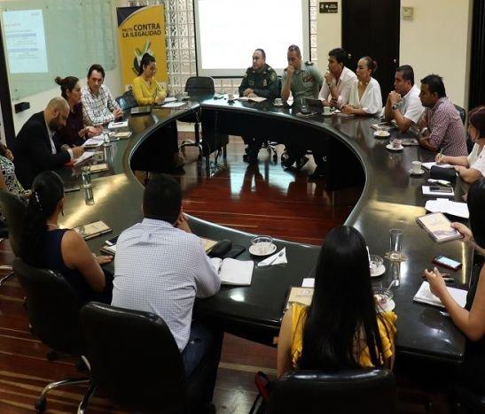 Mesa por la legalidad en el departamento del Tolima
