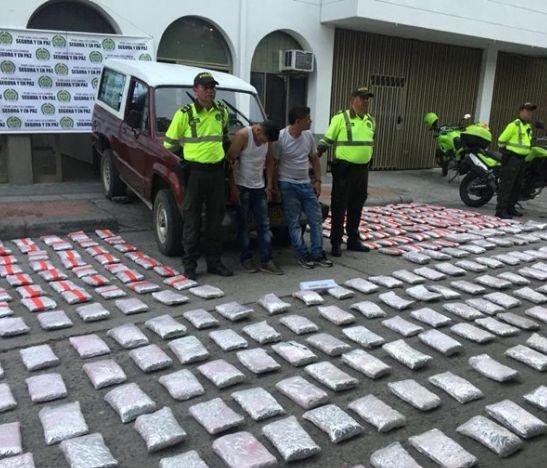 Cayó nuevo cargamento de marihuana en la vía Guamo - Saldaña