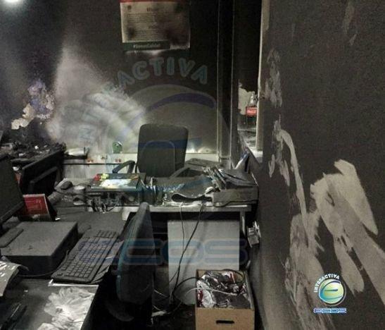 Daños millonarios dejó conato de incendio en la Alcaldía de Ibagué