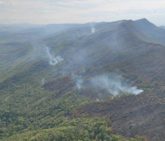 """""""Es el incendio forestal más grave que ha afectado al municipio"""": alcalde de Cunday"""