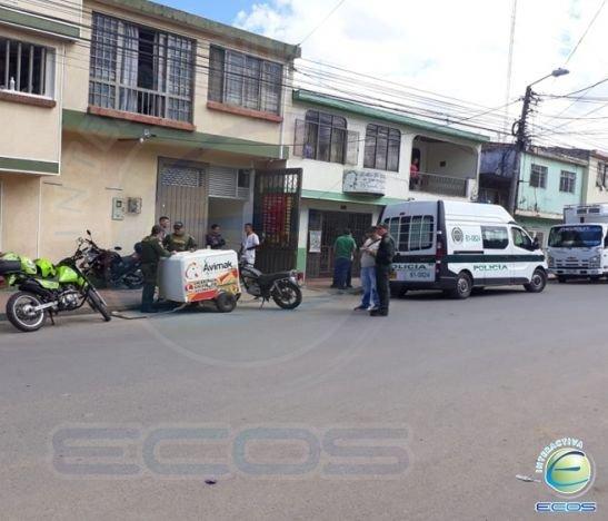 Un hombre recibió un disparo en el rostro tras intento de atraco en el barrio Jardín de Ibagué