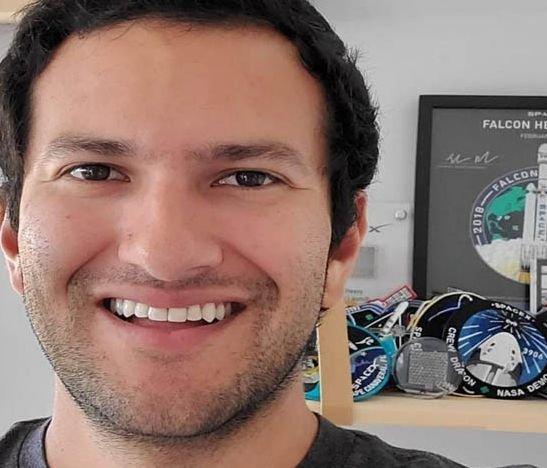Ingeniero colombiano hace parte del lanzamiento del SpaceX