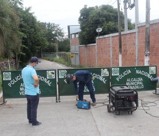 Alcaldía de Venadillo bloqueó entradas al municipio
