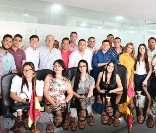 Delegación tolimense participa en el Congreso de la Red Mundial de Jóvenes Políticos