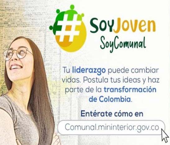 'Soy Joven, Soy Comunal' programa del Ministerio del Interior