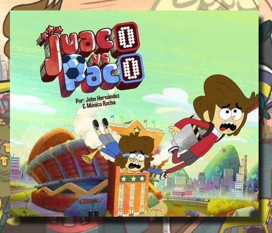 """Juaco vs. Paco"", de Colombia para Cartoon Network"