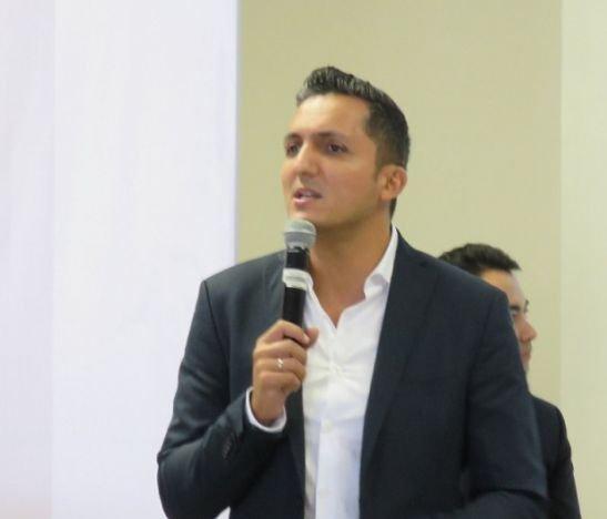 Juan Pablo Gallo, alcalde de Pereira, dio cátedra en Ibagué