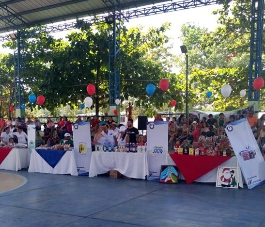 Con gran éxito se desarrolló la IV Feria de Emprendimientos Cemex en Payandé-San Luis