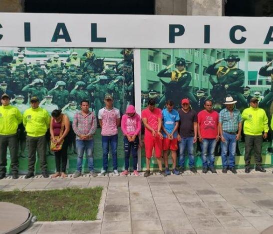 Imputaron a 9 integrantes de la banda delincuencial 'Los Pericocas'