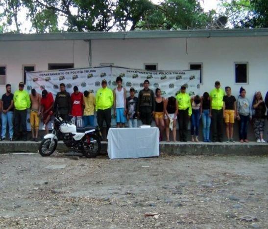 Desarticularon banda delincuencial 'Los Piquiña' en Lérida - Tolima
