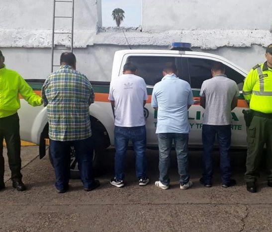 Desarticularon la banda delincuencial 'Los Tierreros', por desplazamiento en El Espinal y Flandes