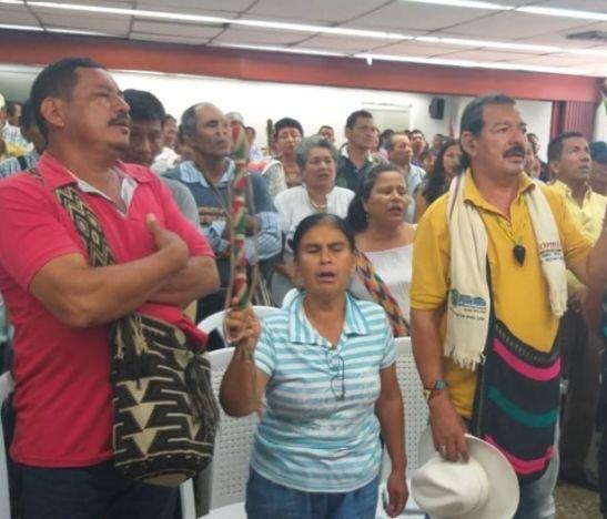 Elegido representante de las comunidades indígenas ante el Consejo Directivo de Cortolima