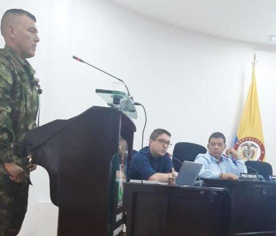 Diputado Hincapié pidió al Ejercito más trabajo social en el Tolima
