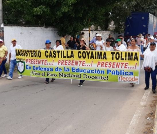 Balance positivo dejan movilizaciones en municipios del Tolima