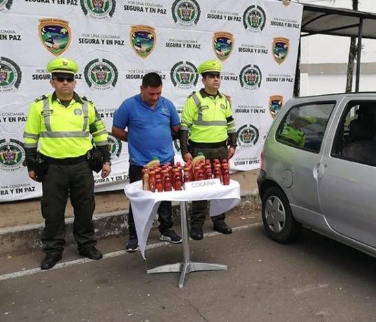 Incautan cargamento de cocaína en el airbag de un Twingo en la vía Ibagué – Espinal