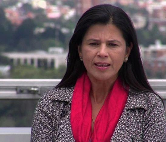 Gloria Amparo Alonso como directora del DNP  HD-13 DE JULIO