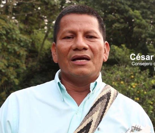 """""""Estamos trazando las líneas de acción del plan salvaguarda del pueblo indígena Pijao en el Tolima"""": César Culma"""
