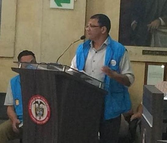 Un tolimense representante de Colombia ante la AIMCSE