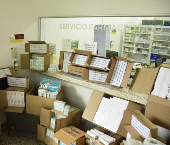 Gobernación del Tolima entregó medicamentos para la atención de pacientes con COVID-19