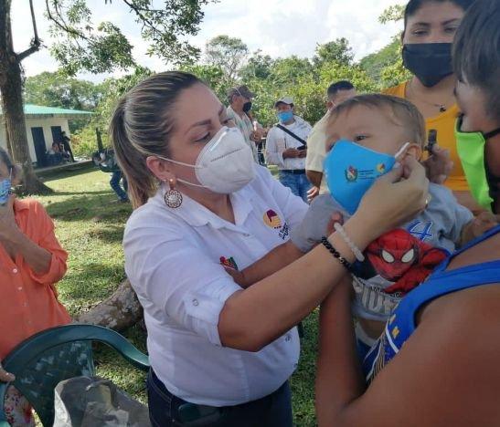 Secretaría de Salud del Tolima realizó jornada de prevención contra el COVID-19 en Ataco
