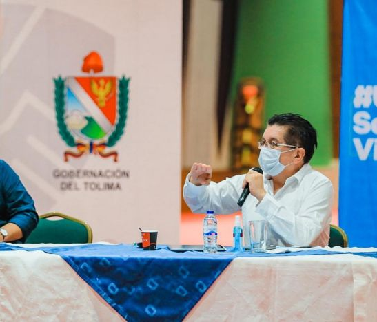 Ministro de Salud reconoció la labor en la Red de Salud Pública del Tolima