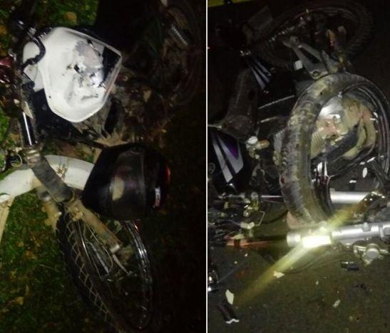 Un muerto y dos heridos dejó choque de dos motos en Chicoral - Tolima