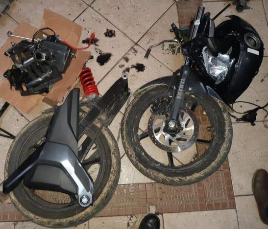 Dos motos robadas en Bogotá fueron recuperadas en Ibagué