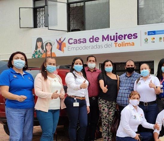 Las mujeres del Tolima avanzan en procesos de empoderamiento