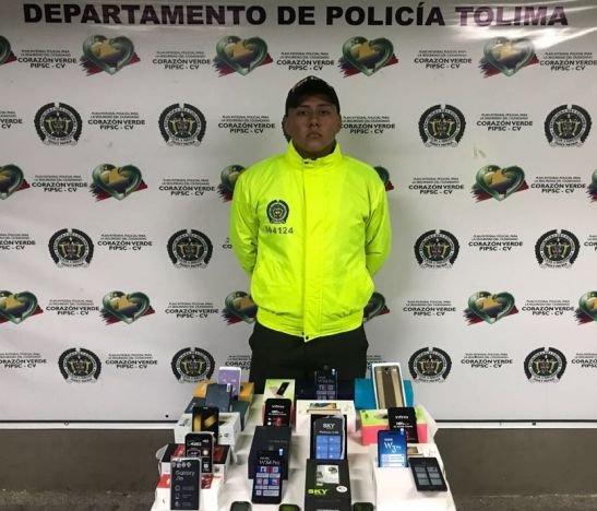 Policía Tolima intensifica operativos contra el hurto de celulares