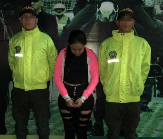 Cayó presunta integrante de la banda delincuencial 'Las Yayitas'