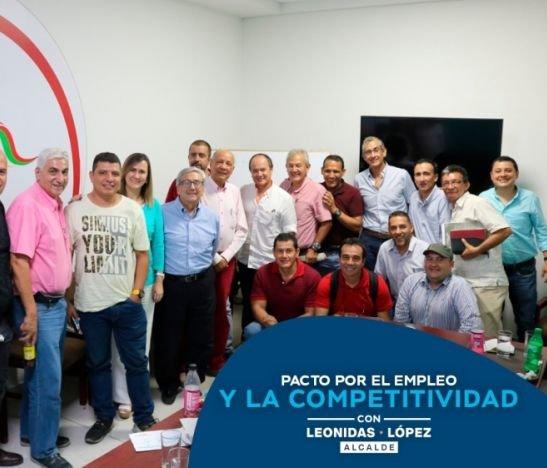 Leonidas López le propone a Cormoda un pacto por el sector textil y de la moda