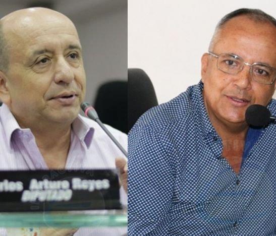Diputado Carlos Reyes denunció ante el fiscal delegado de la Corte Suprema al Gobernador Óscar Barreto