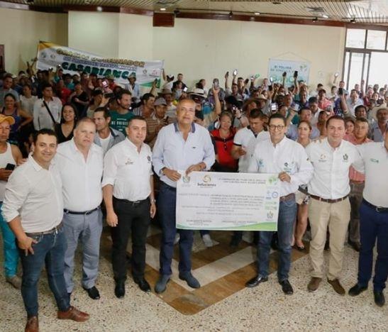 En el Tolima 241 familias recibieron el primer Pago por Servicios Ambientales