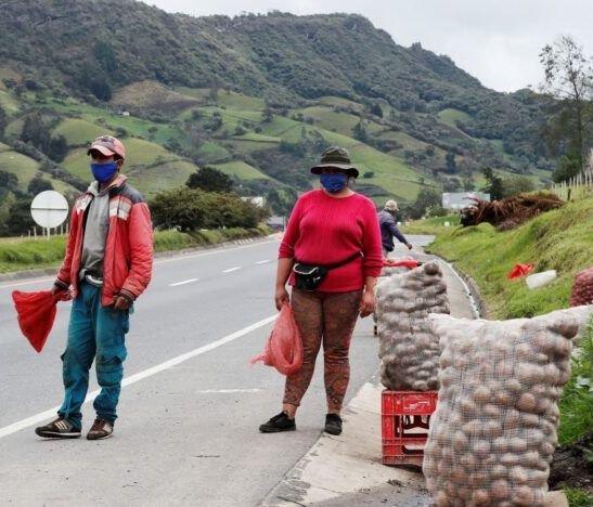 ¡Sea buena papa! Este sábado cultivadores de Murillo venderán papa y frijol en el Cruce de Armero