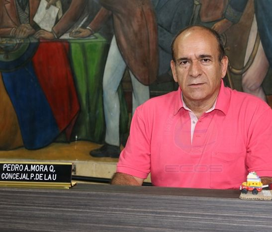 Concejal Pedro Mora todavía no conoce quiénes integrarán la lista al Concejo por el Partido de la U