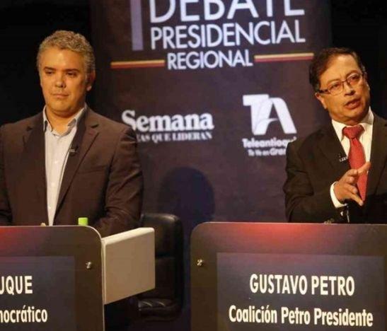 Por tiempo, el Consejo Nacional Electoral no alcanzó a definir fecha para debate presidencial entre Iván Duque y Gustavo Petro