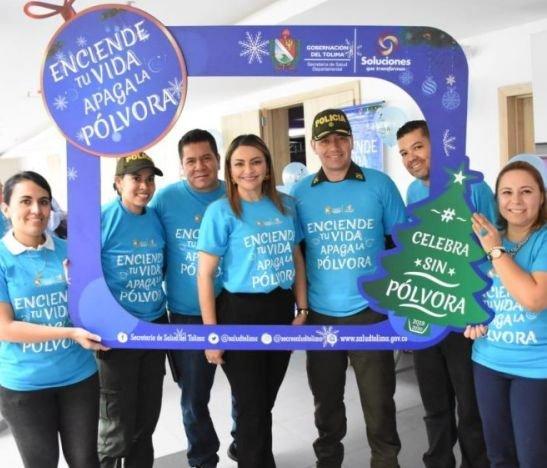 """Gobernación del Tolima hizo el lanzamiento de la campaña """"Enciende tu vida, Apaga la Pólvora"""""""