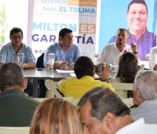 Milton Restrepo presentó sus proyectos y propuestas para el periodo 2020-2023