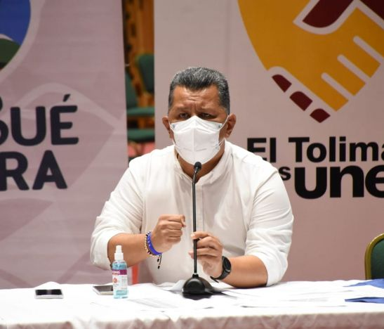 Gobernador del Tolima convoca agenda de diálogo social para este miércoles