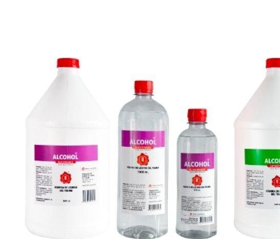 Alcohol antiséptico y glicerinado de la Fábrica de Licores del Tolima con amplia demanda en todo el país