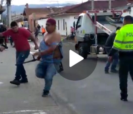 Viral. Policía disparo a dos civiles en medio de un procedimiento de tránsito