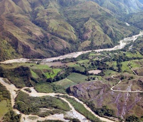 Fuerza Aérea sobrevuela principales afluentes del Tolima